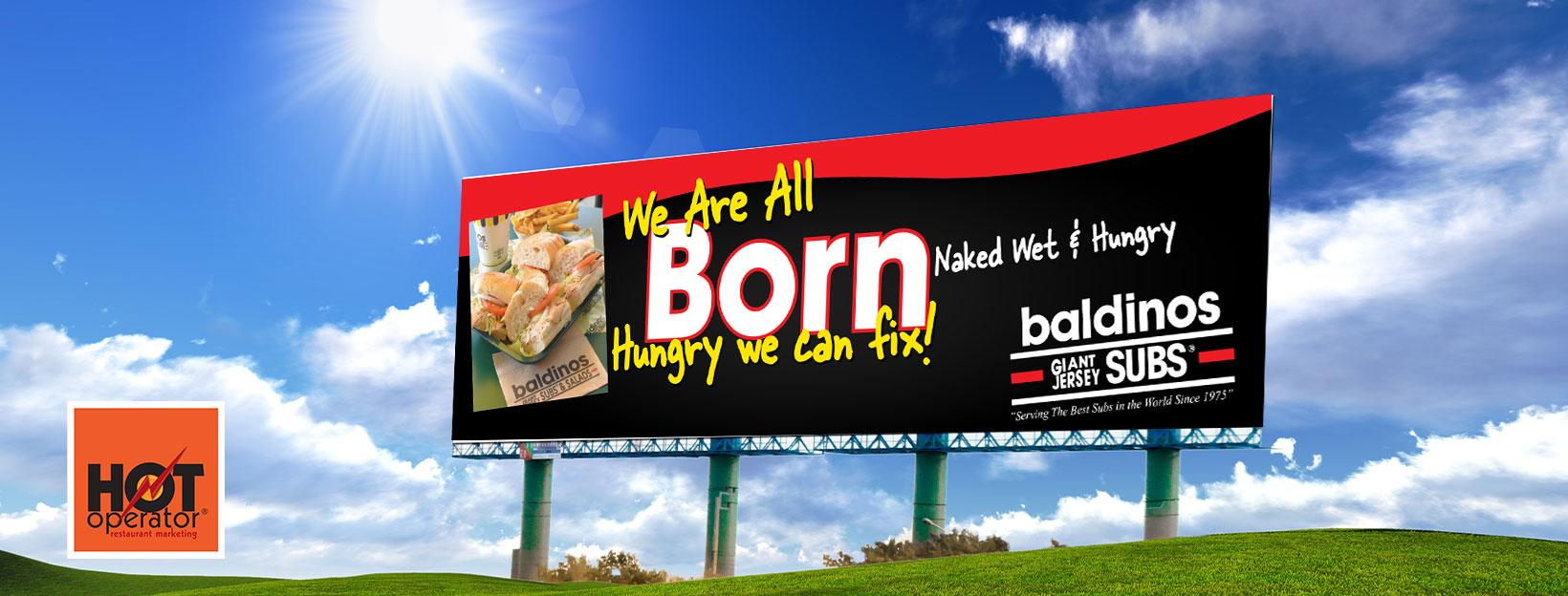 Restaurant Billboard Design